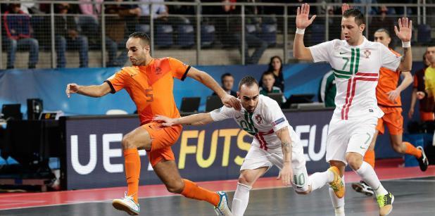 Nederlands Futsal team gaat ook oefenen !