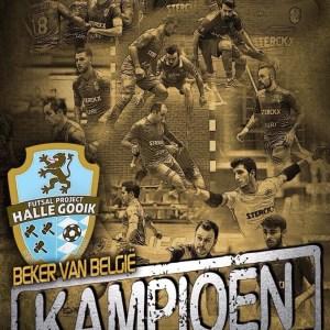 FP Halle Gooik wint de beker !