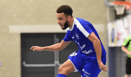Zerouali (Real Noorderwijk): 'Of ik op de radar sta voor het Nederlands futsal team? Geen idee'