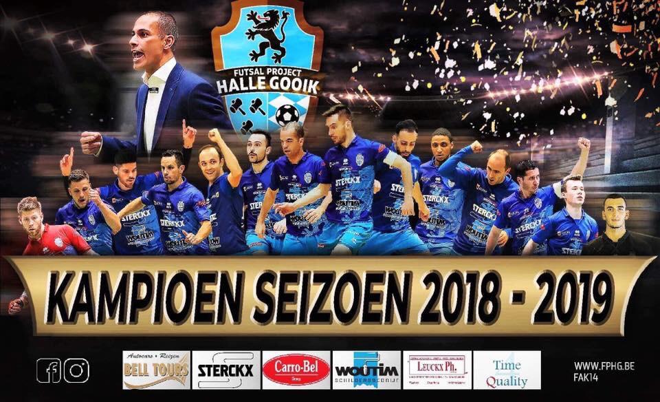 FP Halle Gooik opnieuw kampioen!