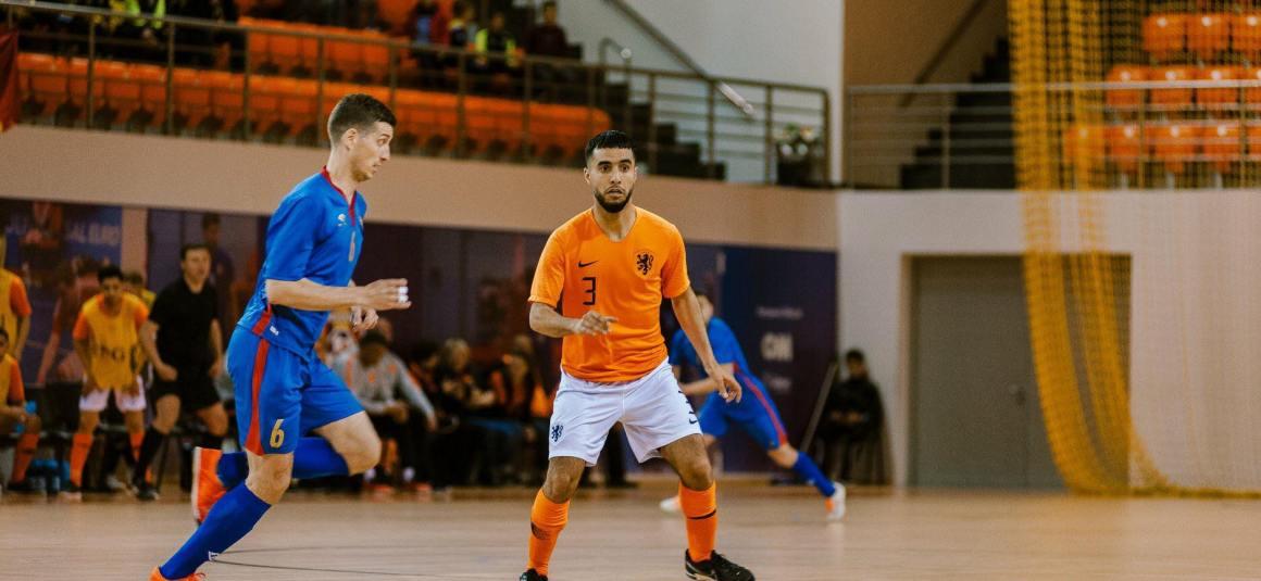 Ramdani (Real Noorderwijk): 'Wij zijn zeker niet tevreden met onze start'