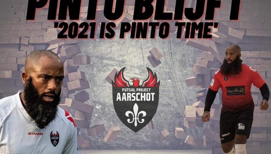 44 jarige Pinto ook volgend seizoen bij Aarschot