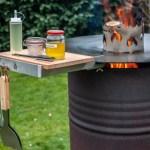 Aufbau Einer Feuertonne Mit Feuerplatte Futterattacke De