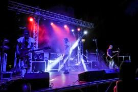 La band in concerto al Rocka in Musica a Roccamandolfi (Is)