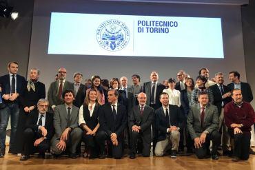 La squadra di lavoro del nuovo rettore del Politecnico Guido Saracco