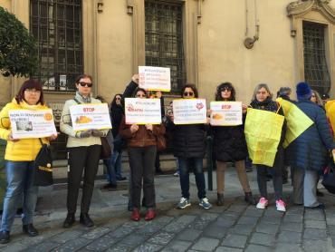 Italiaonline protesta