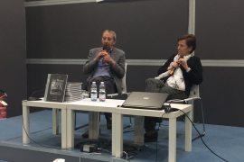 """Nell'ultimo giorno del Salone del Libro 2018, Pier Luigi Comerio ha presentato il suo libro """"Gigi Meroni. Una vita a tutto campo"""", insieme a Maria, sorella dell'ex calciatore granata"""