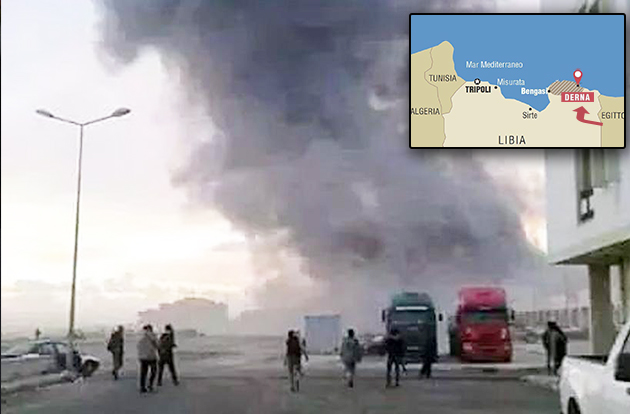 isis libia