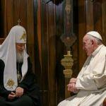 Papa Francesco a Cuba incontra il patriarca Kirill