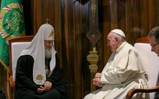 papa e patriarca a cuba