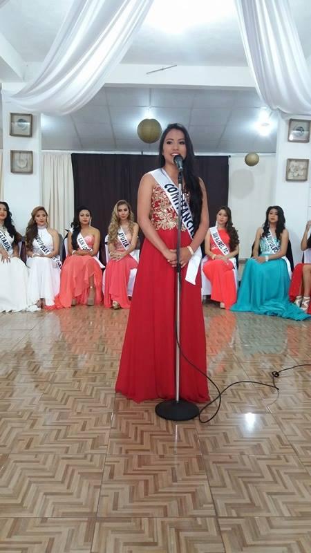 Candidatas a Reina Departamental San Marcos