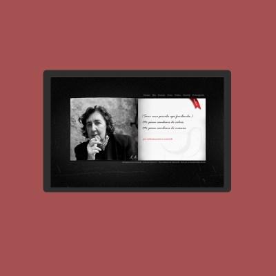Realizzazione siti di artisti - Alda Merini