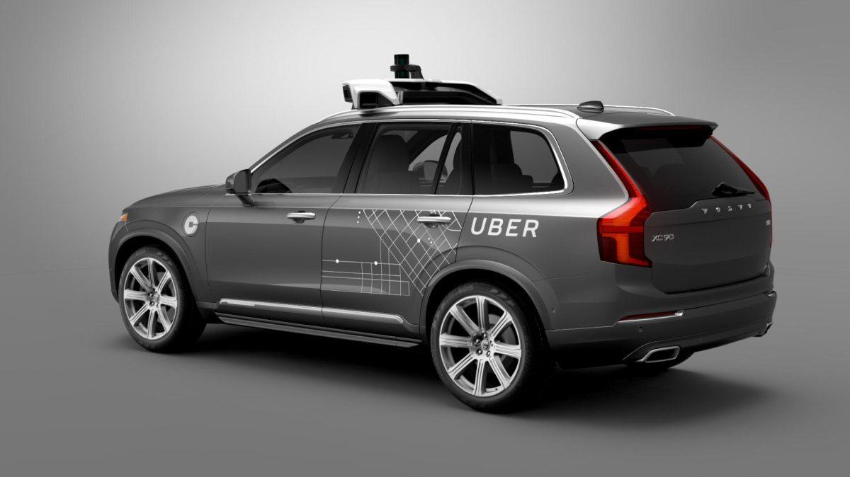 Uber condução autónoma