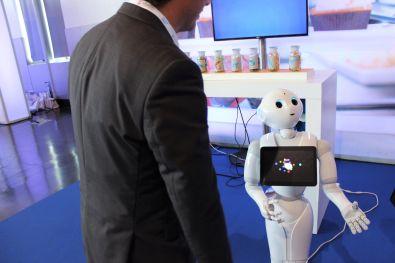 Robô Pepper SAP