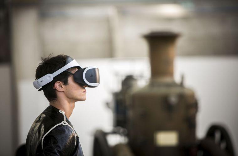 Realidade virtual moda