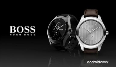Hugo Boss Touch | Android Wear 2.0