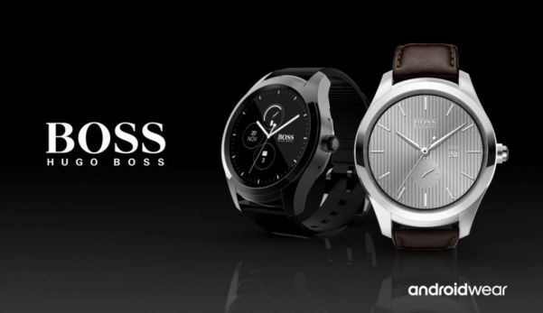 Hugo Boss Touch   Android Wear 2.0