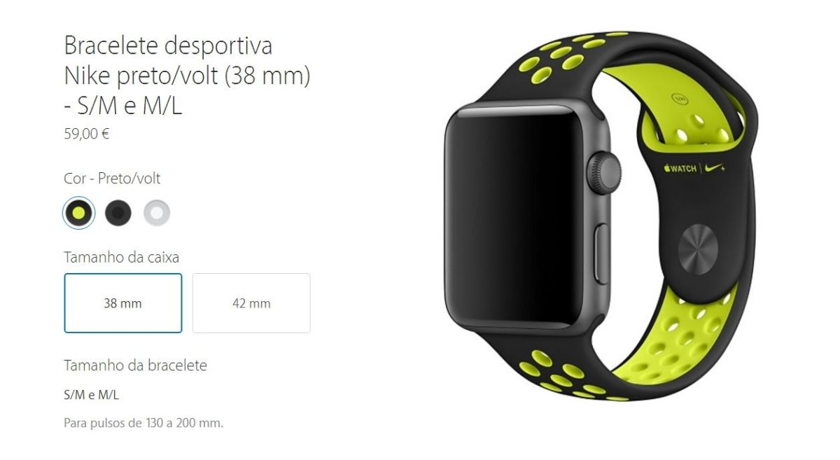 Apple Watch Bracelete Nike