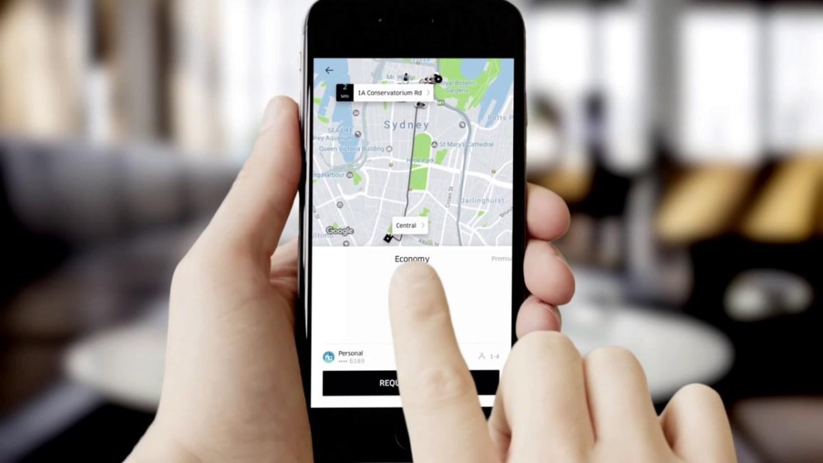 Uber aplicação