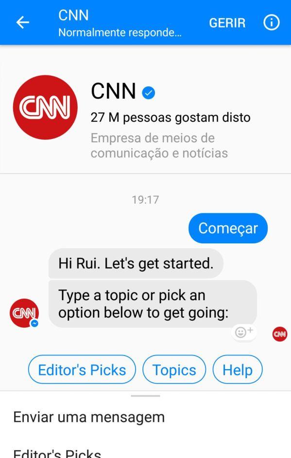 Bots Facebook Messenger | CNN