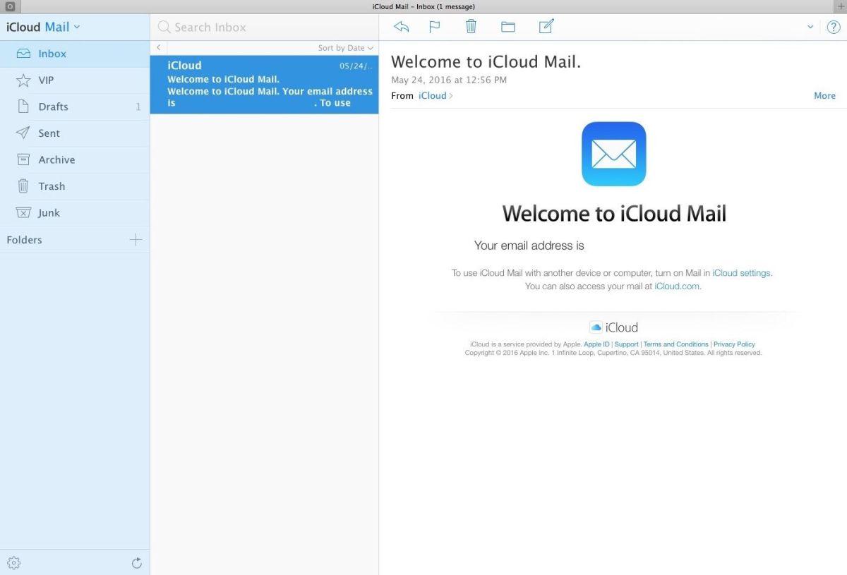 Serviços de email | iCloud