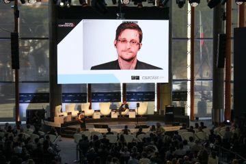 Edward Snowden Estoril Conferences