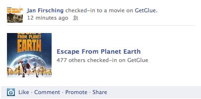 Film Empfehlungen Facebook - GetGlue