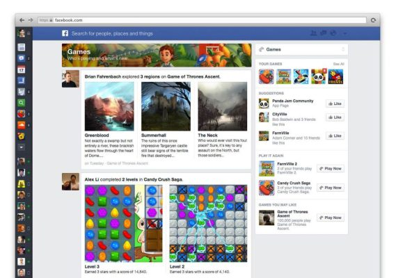 Neuer Facebook Newsfeed - Apps