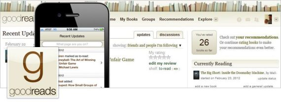 Facebook Open Graph - goodreads