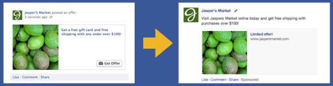Das Ende von Facebook Offers
