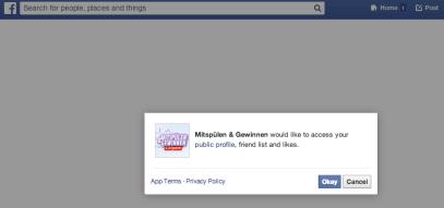 Facebook Gewinnspiele - So nicht I