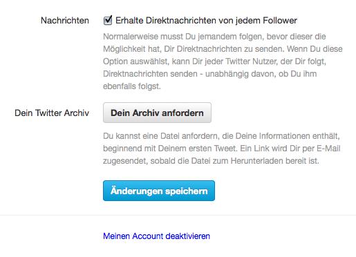 Twitter Direktnachrichten für den Kundensupport einsetzen