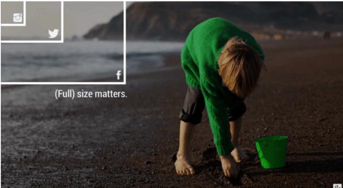 Google+ Full Size Fotos