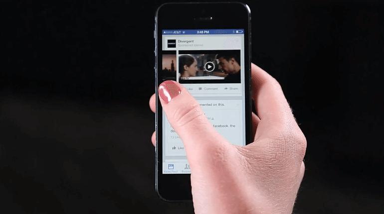 Facebook Video-Anzeigen Test 2014
