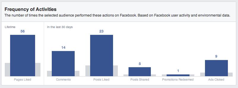 Facebook Audience Insights - So erstellt ihr einen Bericht: Nr. 2 Nutzeraktivität und Frequenz