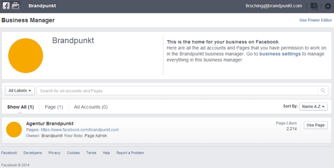 Facebook Business Manager einrichten