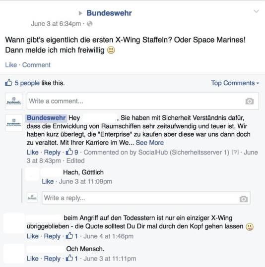Bundeswehr auf Facebook - Behördendeutsch hat auf Facebook nichts zu suchen