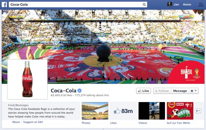 Facebook Sprechen darüber - Hoher Sprechen darüber Wert bei niedrigen Interaktionsraten