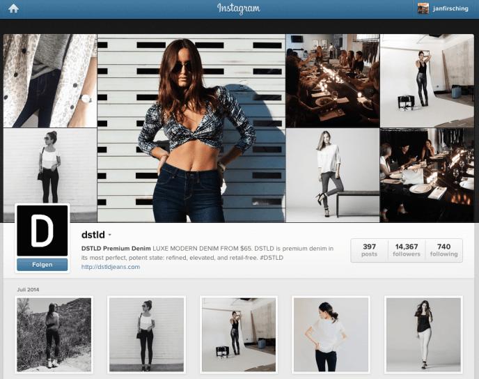 Instagram Kampagne - Influencer dstld