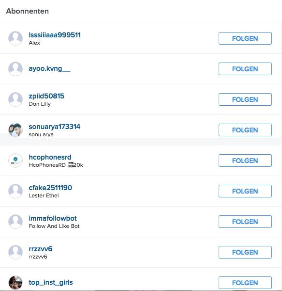 Instagram Follower kaufen - Wie Influencer sich selber bestrafen