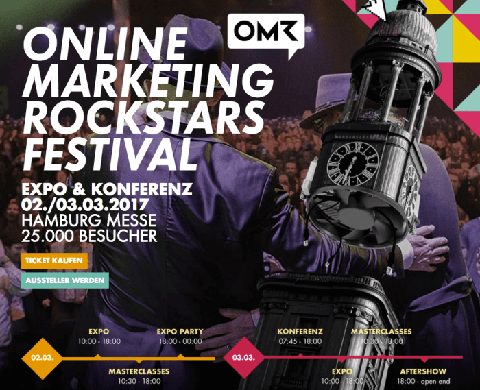 Online Marketing Rockstars Konferenz 2017