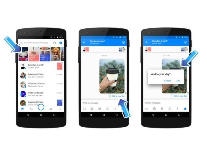 Facebook Messenger Day Gefahr für Snapchat
