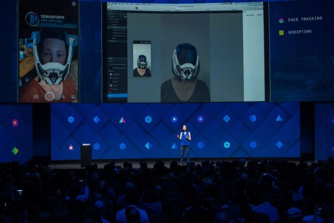 Facebook AR Studio - Augmented Reality Mass Effect Andromeda Deb Liu F8 2017-min