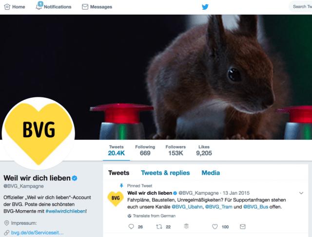 Twitter Redesign Profilbild anpassen Unternehmen