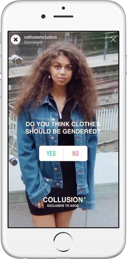 Jetzt auch für Anzeigen in Stories: Mehr Engagement durch Umfragen-Sticker für Instagram Stories