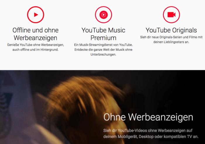 YouTube Premium-keine-werbung