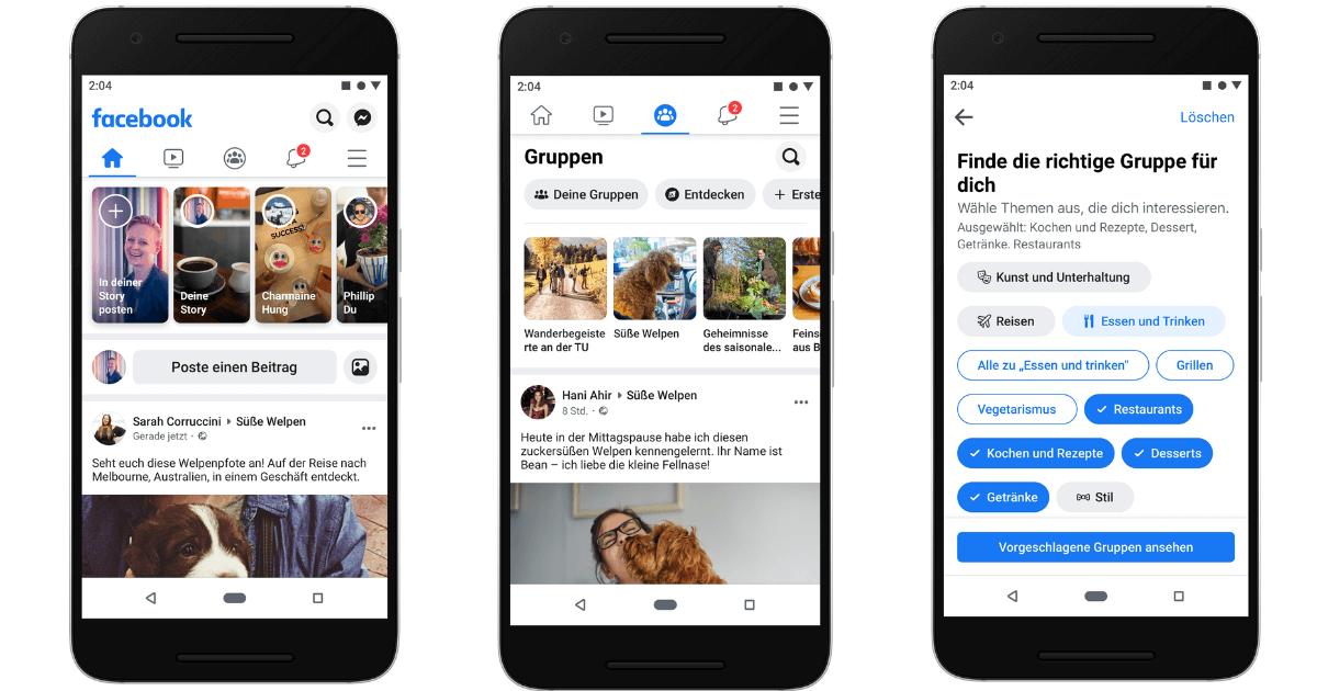 Facebook Gruppen Marketing Unternehmen
