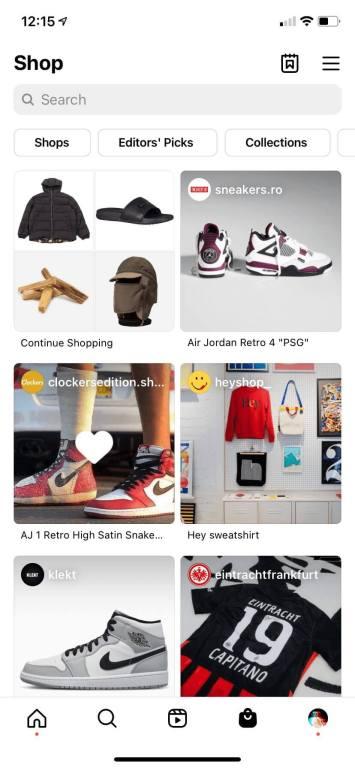 Instagram-Shops-Navigation-Tab