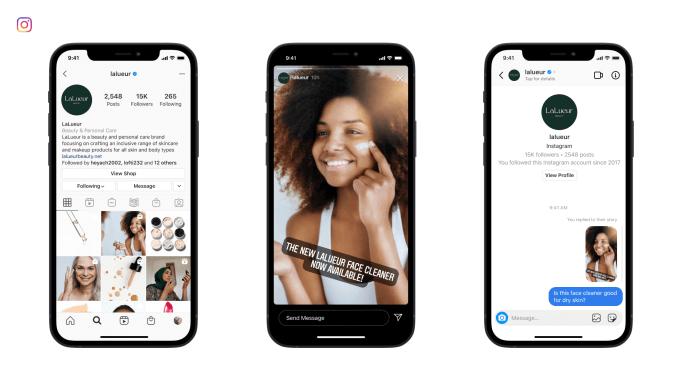 Messenger API für Instagram steht ab sofort allen zur Verfügung