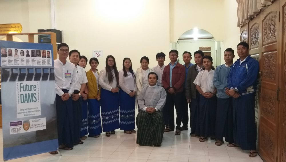 FutureDAMS training: Ministry of Electricity and Energy, Myanmar